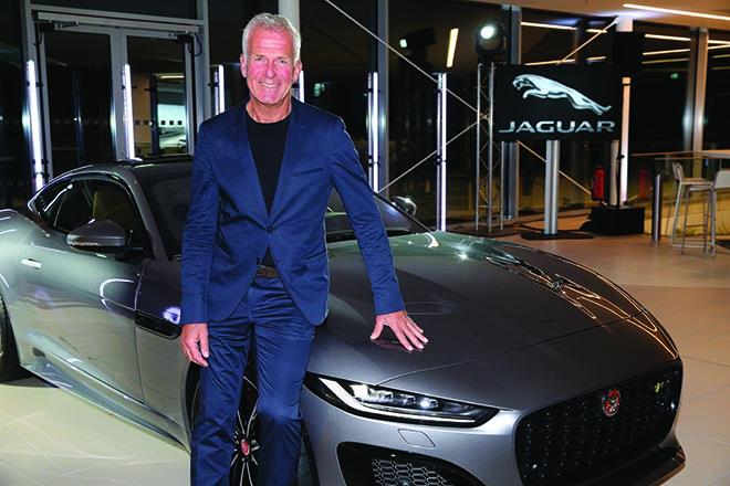 Christian Danner bei der Jaguar F-Type World Premiere. Fotocredit: Gisela Schober/Getty Images for Jaguar