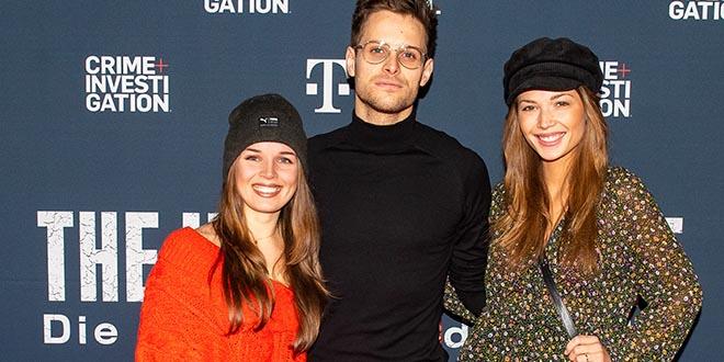 Einige Schauspieler waren unter den Screening-Gästen (v.l.n.r.): Darya Gritsyuk, Philip Birnstiel und Lena Meckel.