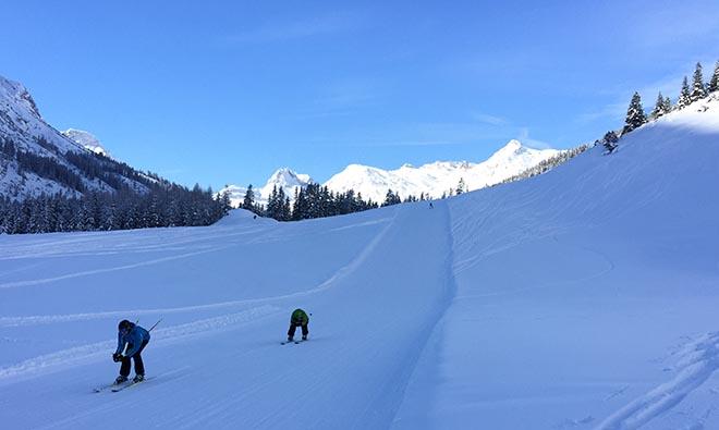 Perfekte Konditionen im Skiurlaub