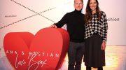 Ana und Bastian Schweinsteiger waren die Stars auf der Fashion Week