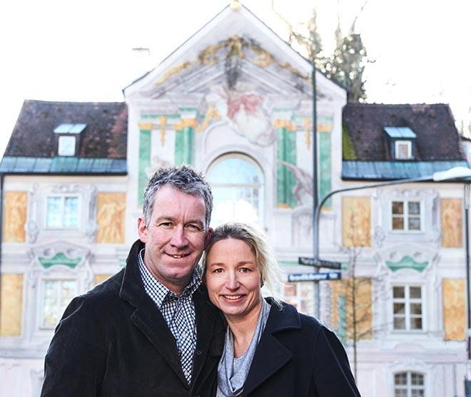 Barbara und Shane McMahone übernehmen ab September 2020 das bekannte Asam Schlössl.