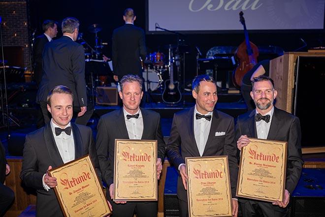 Ballsaison München mit Unternehmer Verleihung