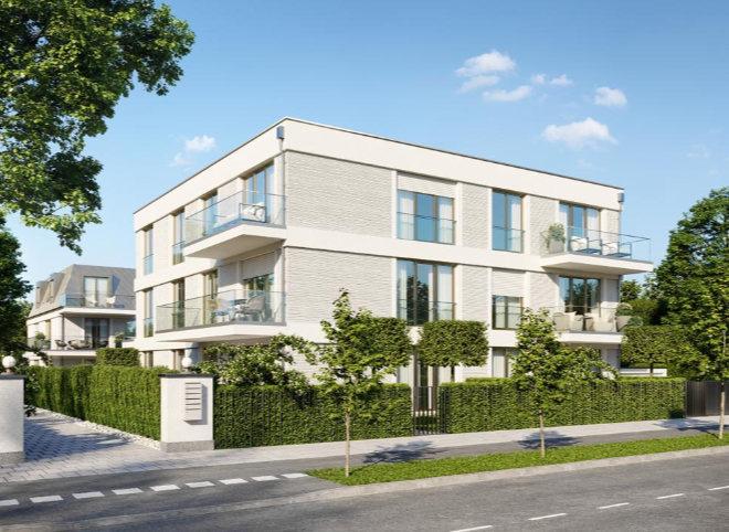 Immobilien in Harlaching - 18 Wohnungen entstehen in der Geiselgasteigstraße mit Wohnflächen von ca. 46 bis ca. 127 qm.Fotocredit: neubaukompass.de