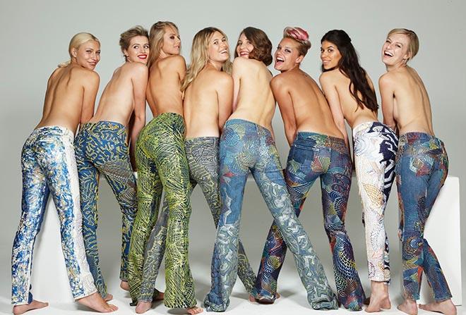 Secondhand Jeans Projekt