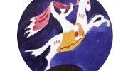 BUNTE REITER: Münchner Kinderkunst-Aktion in der Corona-Krise