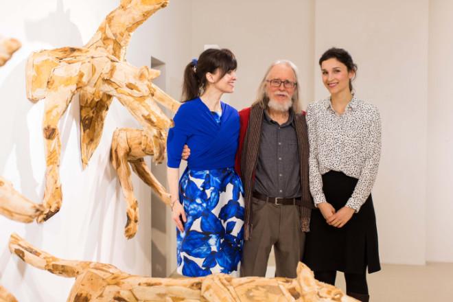 Kunstmarkt in Zeiten von Corona zeigt Lebendiges in unlebendigen Zeiten: Veikko Hirvimäkis Tierskulpturen eröffnen virtuell in der Galerie Stefan Vogdt