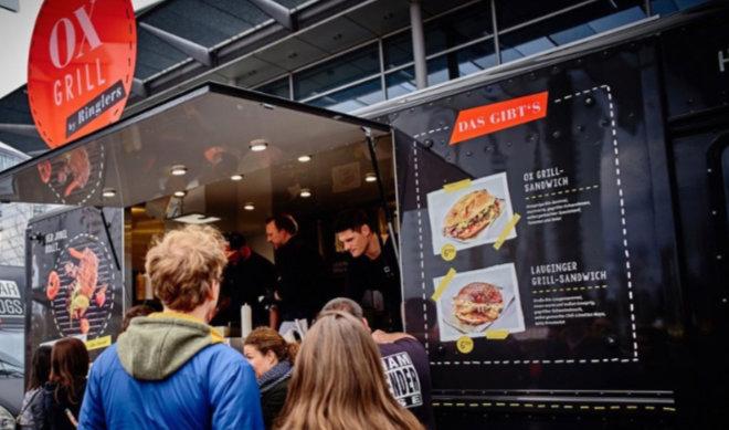 Mobile Food für die Münchner, die nicht im Mobile Office arbeiten können