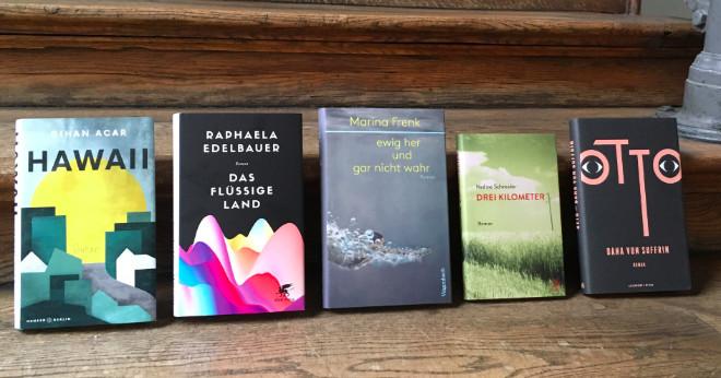 Diese fünf Autorinnen/Autoren und Titel sind für den ersten Vera Doppelfeld Preis nominiert!