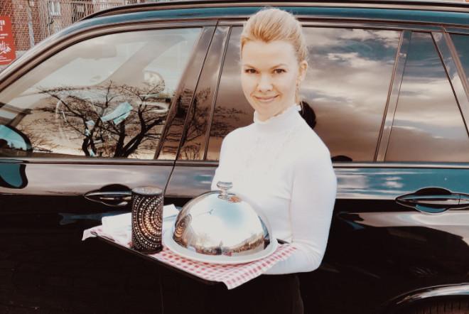 Die Antwort auf Corona von Monti Monaco'-Wirtin Sarah di Santo: 'Dinner in the Car'!
