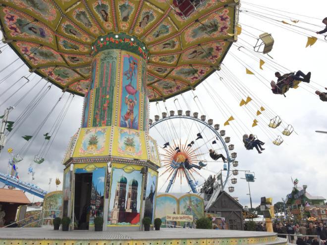 Seit 1810 findet das Oktoberfest jedes Jahr auf der Theresienwiese statt.