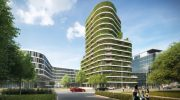 Fassade für den Klimaschutz: 'Grünes Licht' für 'grünes Hochhaus'
