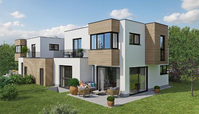 Einfamilienhaus kaufen: Nur noch ein schlüsselfertiges 5-Zimmer-Haus mit ca. 147 m² Wfl. ist verfügbar.