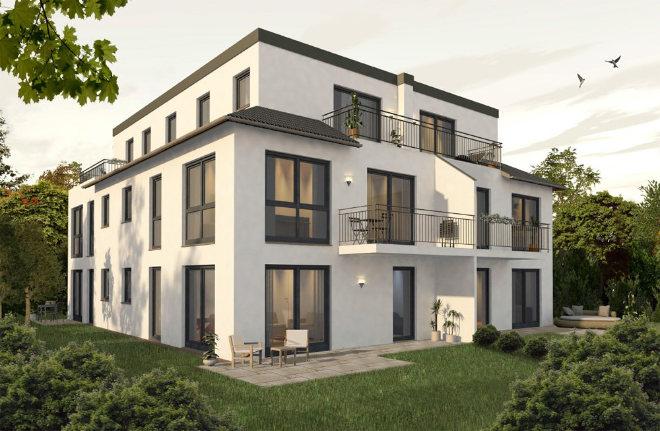 Kriterien Wohnlage Zehn Eigentumswohnungen ab ca. 353.000 € bis ca. 900.000 €. Fotocredit: neubaukompass.de