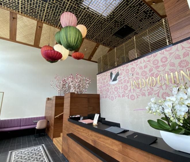 Das Regensburger Architekturbüro Haller hat aus der abstrahierten Vision von 'Reisterrassen' ein Lokal mit fünf Ebenen designt.