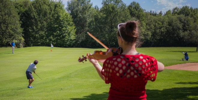 Klassikkonzert im Golfclub