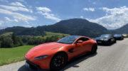 Aston Martin Ausfahrt: Mit 5000 PS in die Kitzbüheler Alpen