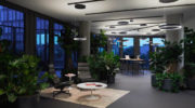 New Work Spaces mit einzigartigem Lichtkonzept