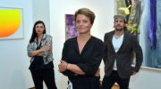Ausstellungs-Opening Just Light and Colour in der Galerie Opdahl Munich