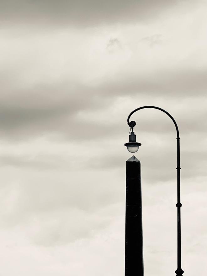 Auch Monate später ist kaum ein Flieger am Himmel zu sehen. Fotocredit: Nicole Giesa