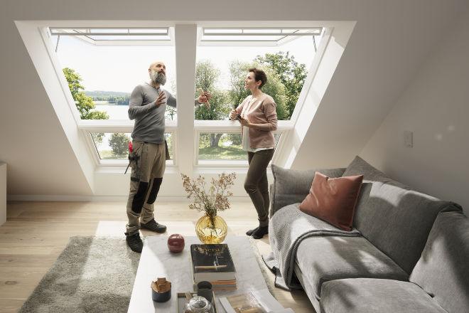 Dank staatlicher Förderungen können Endkunden beim Dachfensteraustausch oder -einbau viel Geld sparen. Dachsanierungen fängt bei Dachfenster an!