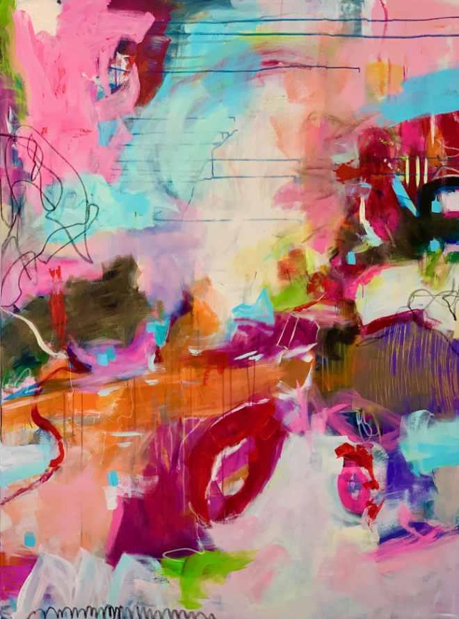 ARTMUC zeigt, wie unterschiedlich zeitgenössische Kunst sein kann. Hier ein Bild von Künstlerin Steffi Möllers