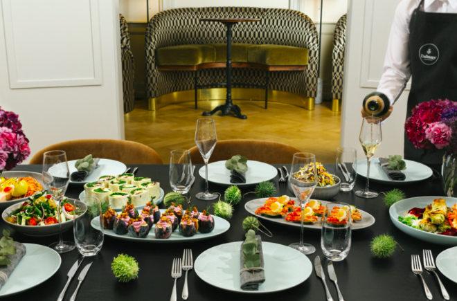 Wie im eigenen Wohnzimmer speisen! Kustermann und Dallmayr kooperieren für eine einzigartige eventlocation münchen|||münchen. Fotocredit: Dallmayr