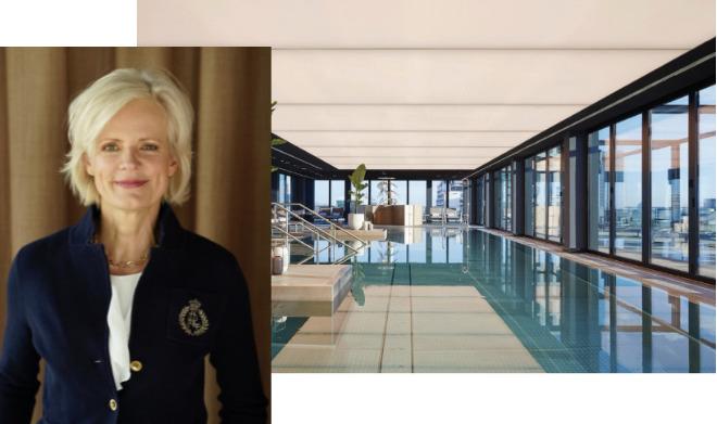 Day Spa Managerin Lydia Heymann