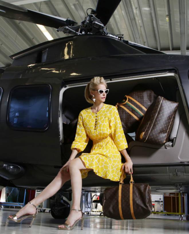 Unternehmerin und gleichzeitig Model Natascha Grün. Fotocredit: