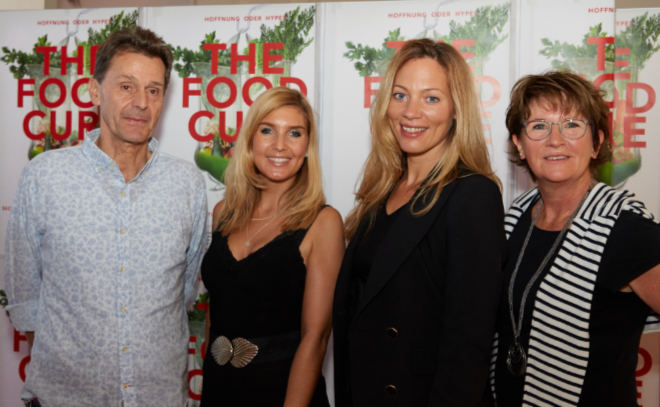 The Food Cure Premiere in München