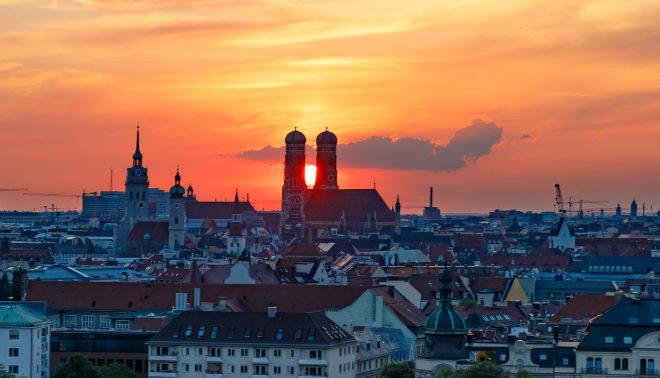 Cities Skyline - So dürfte der Blick vom Philharmonie-Dach auf die Stadt sein!