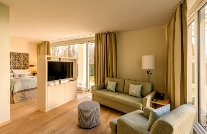 Jedes Parkhotel Rothof Zimmer hat natürlich seinen Charme, aber Zimmer 902 bietet Parkblick auch um die Ecke!