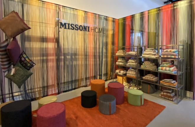 MISSONI HOME in der Goldbergstudios im Glockenbach