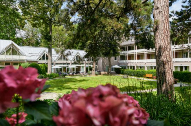 Parkhotel Rothof: 80 Prozent der Hotelzimmer haben Blick auf den Park.