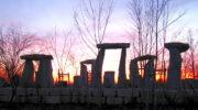 Der berühmte Stonehenge-Steinkreis steht jetzt auch in Niederbayern