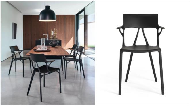 Hinter dem Stuhl K.I. hat sich Philippe Starck nicht nur mit Artificial Intelligence befasst. Mit diesem Stuhl beginnt ökologische Nachhaltigkeit im Industriedesign!