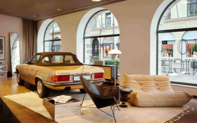 Mercedes München schlägt die Brücke zwischen innovativem Raumkonzept und modernen Künstlern und Kreativen
