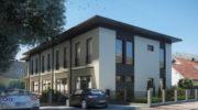 Vom Bürogebäude zum kernsanierten Wohnensemble