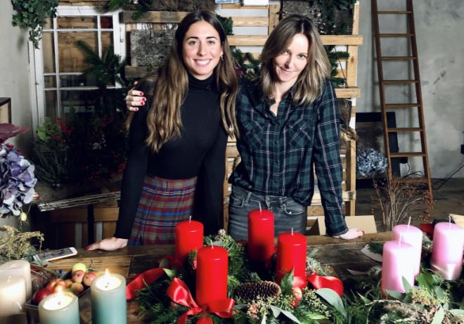 Alice Sare Özserin und Anne Baltes-Schlüter fragen Euch: 'Wollt Ihr 2020 einen ganz eigenen und individuellen Adventskranz binden?