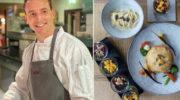 Vegane Küche mit Festtagsmenü von Food-Star Johannes Hennche, welcher auch Yogalehrer ist!