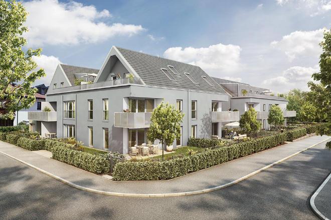 Die 2-Zimmer-Einheiten haben Größen mit ca. 39 bis 68 m² Wohnfläche.