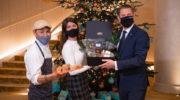 Weihnachtsmenü to Go aus der Matsuhisa-Küche von Star-Koch Nobu