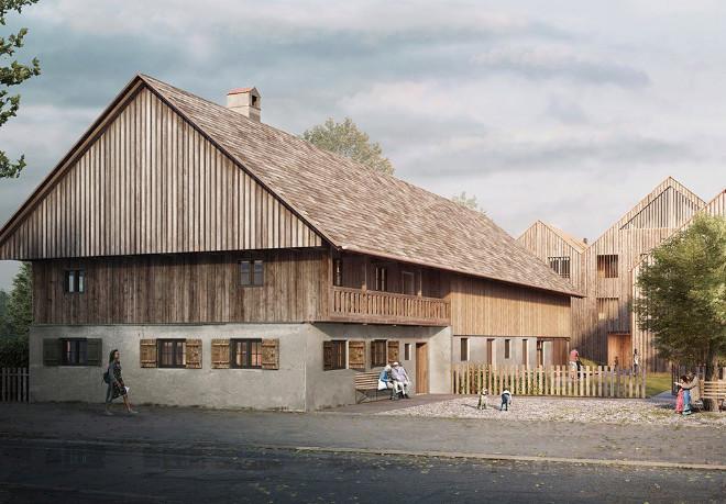 Wohnen auf dem Bauernhof