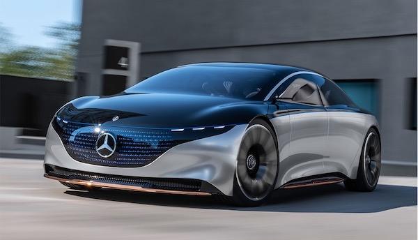 Mercedes EQS - Elektroauto