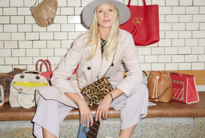 Im Club-Miet-Stock sind Handtaschen von fast allen Luxuslabels. Fotocredit: Tobias Goebbels