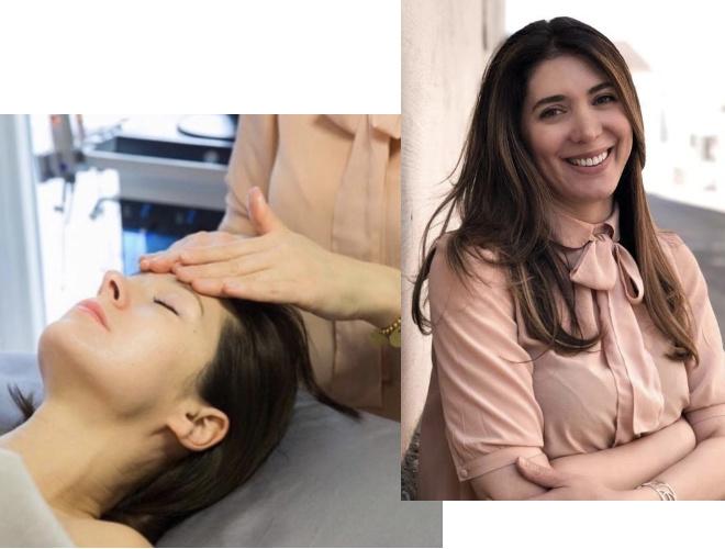 Solange der beauty-Salon von Madina Arzueva geschlossen sein muss, gibt sie online ihre Hautpflege-Beratung