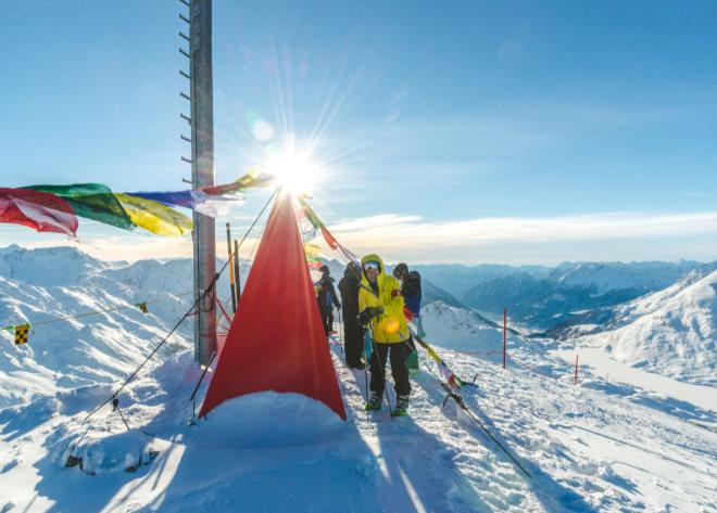 St. Moritz bietet Mount Everest Feeling