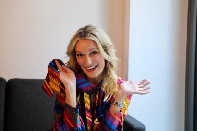 Monika Gruber macht an zwei Terminen im März das Internet zu ihrer Bühne. Fotocredit: Katharina Baumann
