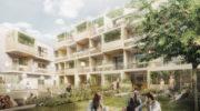 Studentenapartments der Zukunft: Recycelte Baustoffe, Urban Gardening und vernetzte Bewohner