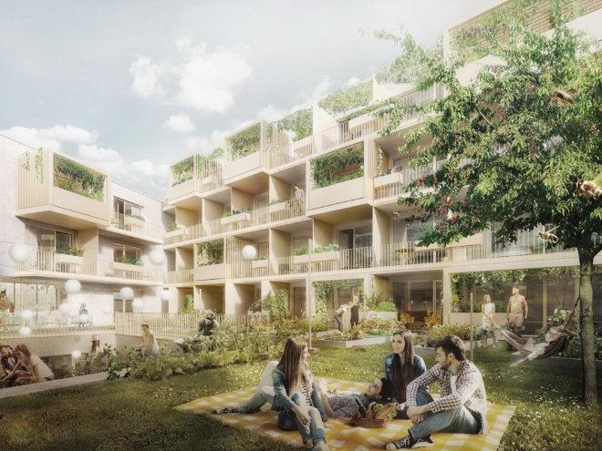 Wie wollen oder werden Studenten in Zukunft wohnen? An 67 gar nicht so typischen Studentenapartments wird es der Münchner Bauträger BHB bald zeigen. Fotocredit: neubaukompass.de