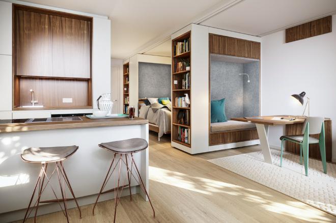 Urban Living Trend mit Micro-Living